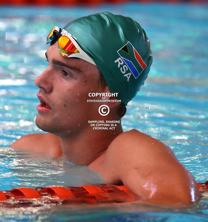 DURBAN, SOUTH AFRICA, February 6 2016 -  Reuben Schoeman Men 1500 LC M  Freestyle during Day 3  the second&nbsp;leg of the 2016 South African Swimming Grand Prix series at the  Kings Park Swimming Pool Durban South Africa. (Photo by Steve Haag)<br /> Images for social media must have consent from Steve Haag
