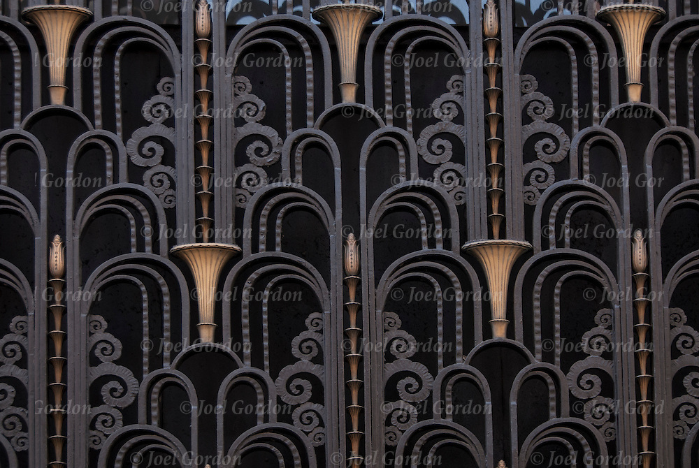 Art deco door of the madison belmont building joel for Art deco architectural details