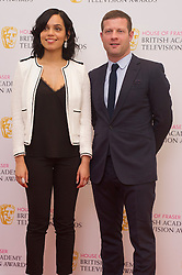 Georgina Campbell and Dermot O'Leary attends House of Fraser British Academy Television Awards Nominations Announcement at the Princess Anne Theatre in London. EXPA Pictures © 2016, PhotoCredit: EXPA/ Photoshot/ Euan Cherry<br /> <br /> *****ATTENTION - for AUT, SLO, CRO, SRB, BIH, MAZ, SUI only*****