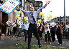 Scottish Liberal Democrats celebrate English election results, Edinburgh, 3 May 2019