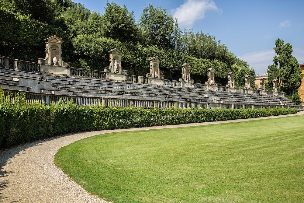 Statues, Boboli Gardens - Florence, Italy 2014