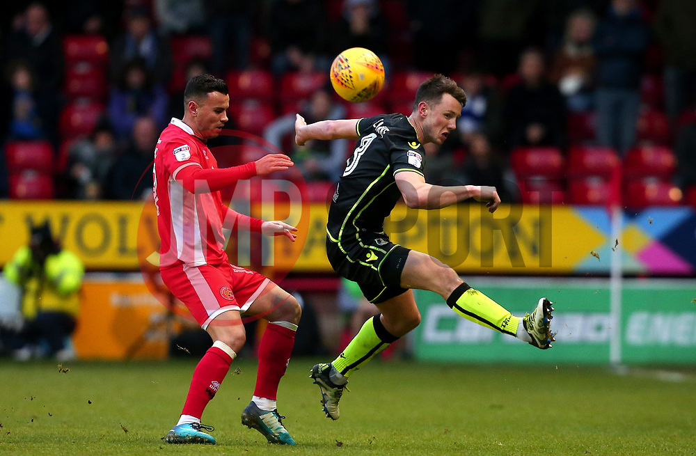 Ollie Clarke of Bristol Rovers beats Zeli Ismail of Walsall to the ball - Mandatory by-line: Robbie Stephenson/JMP - 26/12/2017 - FOOTBALL - Banks's Stadium - Walsall, England - Walsall v Bristol Rovers - Sky Bet League One