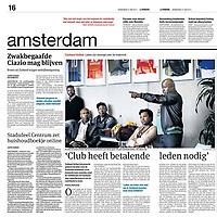 Parool27 juni 2013: voetbalclub Amsterdam Zuid-Oost, Zuidoost United