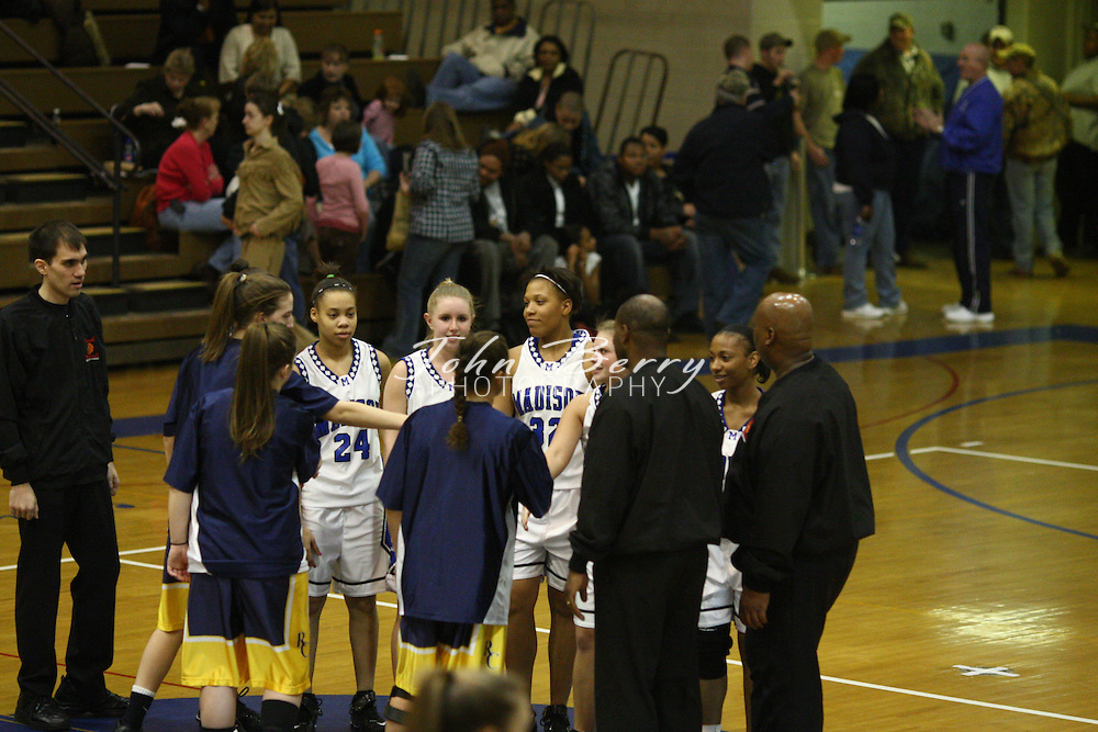 MCHS Varsity Girls Basketball.vs Rappahannock.2/4/2008..