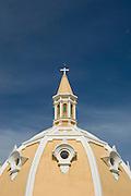 San Pedro Claver Church dome (1603), Cartagena de Indias, Bolivar Department,, Colombia, South America.