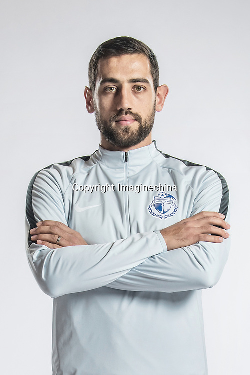 **EXCLUSIVE**Portrait of Croatian soccer player Mate Males of Dalian Yifang F.C. for the 2018 Chinese Football Association Super League, in Foshan city, south China's Guangdong province, 11 February 2018.