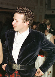 MR ORLANDO FRASER at a ball in London on May 1st 1997.LYB 62
