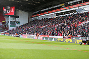 A full stand at Bramall Lane during the EFL Sky Bet Championship match between Sheffield United and Nottingham Forest at Bramall Lane, Sheffield, England on 17 March 2018. Picture by Mick Haynes.
