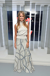 CRESSIDA BONAS at the Louis Vuitton Series 3 VIP Launch held at 180 Strand, London on 20th September 2015.