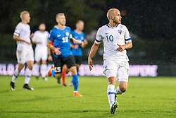 September 11, 2018 - Turku, Finland - Teemu Pukki during the UEFA Nations League football match between Finland and Estonia at the Veritas Stadium in Turku, Finland on 11 September 2018. (Credit Image: © Antti Yrjonen/NurPhoto/ZUMA Press)