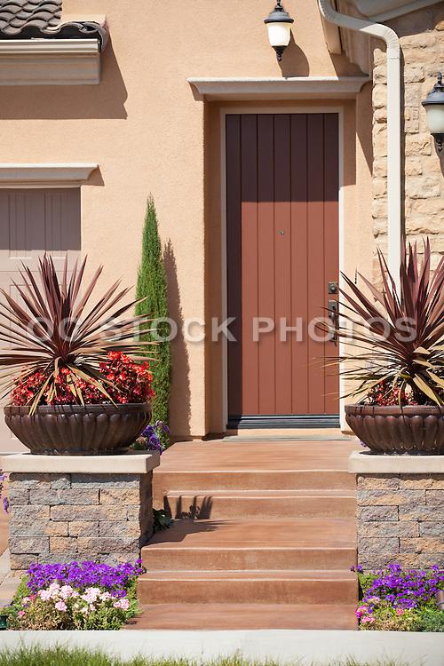 New Model Home Front Door Entryway