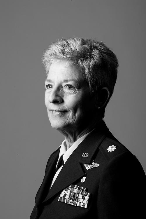 Susan E. Marshall-Coray<br /> Air Force<br /> O-5<br /> Nurse<br /> 1967 - 1989<br /> Vietnam<br /> <br /> Veterans Portrait Project<br /> Denver, CO