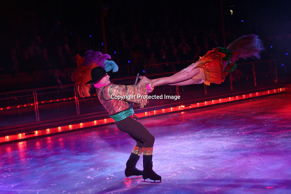 Royal Caribbean International's  Independence of the Sea..Ice show.' strings, a world adventure on ice.'..