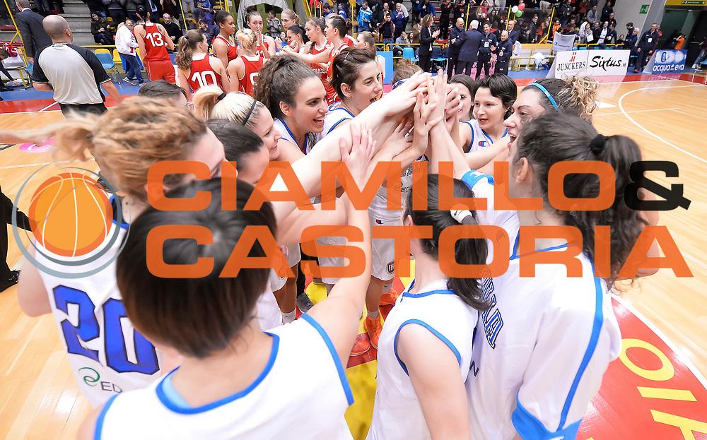 DESCRIZIONE : Schio Torneo Famila cup Italia Russia Italy Russia<br /> GIOCATORE : team italia<br /> CATEGORIA : esultanza<br /> EVENTO : Schio Torneo Famila cup Italia Russia Italy Russia<br /> GARA : Italia Russia Italy Russia<br /> DATA : 28/12/2014<br /> SPORT : Pallacanestro<br /> AUTORE : Agenzia Ciamillo-Castoria/R.Morgano<br /> Galleria: Fip Nazionali 2014<br /> Fotonotizia: Schio Torneo Famila cup Italia Russia Italy Russia<br /> Predefinita :