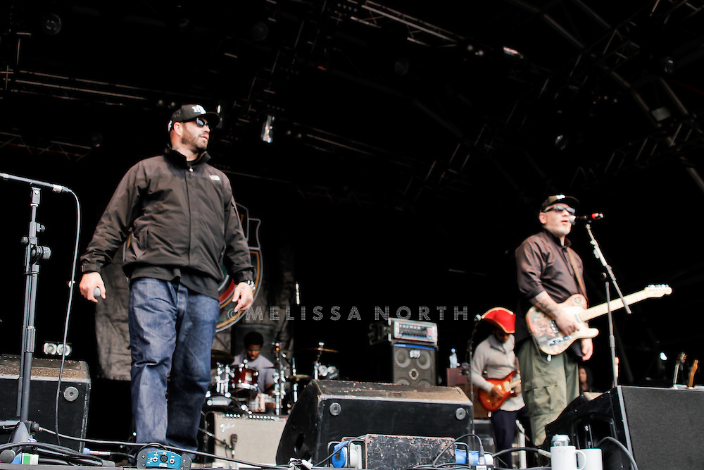 House of Pain perform at Camp Bestival on 30 July 2011, Lulworth UK.