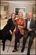 LUCY FOX- VISCOUNTESS GORMANSTON; CHRISTINE HAMILTON; NEIL HAMILTON, Ralph Lauren host launch party for Nicky Haslam's book ' A Designer's Life' published by Jacqui Small. Ralph Lauren, 1 Bond St. London. 19 November 2014