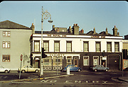 Amateur Photos, Old Dublin, January 1984, Kingsbridge Station, Parkgate St, Telephone Box, Lanterns, Substation transformer, Clearys, Royal Oak, Lounge, Bar, fiat, 124, vw beetle, Ford Escort, mk2,