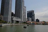 Singapore River il fiume che attraversa la città