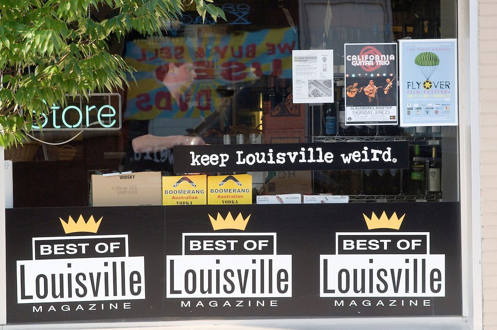 Keep Louisville Weird, photographed Sunday, June 14, 2009 in Louisville, Ky., for the Highlander. (Photo by Brian Bohannon)
