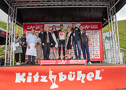 12.07.2019, Kitzbühel, AUT, Ö-Tour, Österreich Radrundfahrt, 6. Etappe, von Kitzbühel nach Kitzbüheler Horn (116,7 km), im Bild Jonas Koch (GER, CCC Team) im Mautner Markhof Trikot des Siegers in der Punktewertung // Jonas Koch of Germany (CCC Team) wearing the Mautner Markhof jersey for the win in the points classification during 6th stage from Kitzbühel to Kitzbüheler Horn (116,7 km) of the 2019 Tour of Austria. Kitzbühel, Austria on 2019/07/12. EXPA Pictures © 2019, PhotoCredit: EXPA/ Reinhard Eisenbauer
