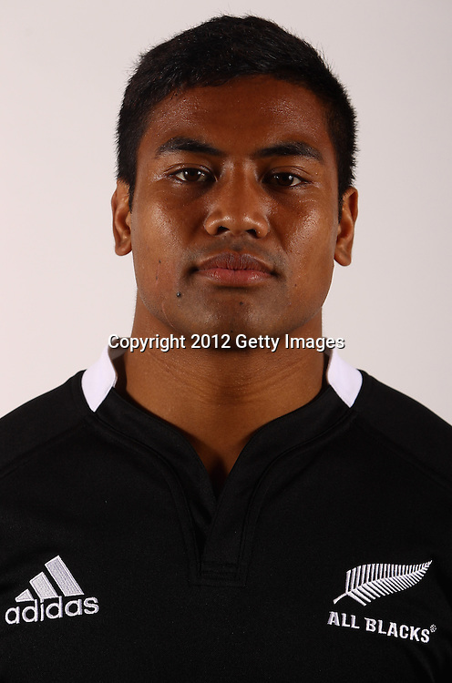 AUCKLAND, NEW ZEALAND - JUNE 03: Julian Savea of the All Blacks during the New Zealand All Blacks headshot session at the Heritage Hotel on June 3, 2012 in Auckland, New Zealand.  (Photo by Phil Walter/Getty Images for NZRU)