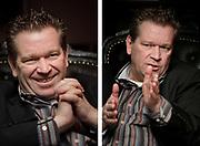 Hans Nijland, president of FC Groningen football club // Hans Nijland, directeur van FC Groningen.