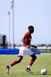 Tyreeq Bakinson of Bristol City during the 2nd leg of the match after the previous day's game was abandoned at half time due to extreme weather - Rogan/JMP - 14/07/2019 - IMG Academy, Bradenton - Florida, USA - Bristol City v Derby County - Pre-Season Tour Day 3.