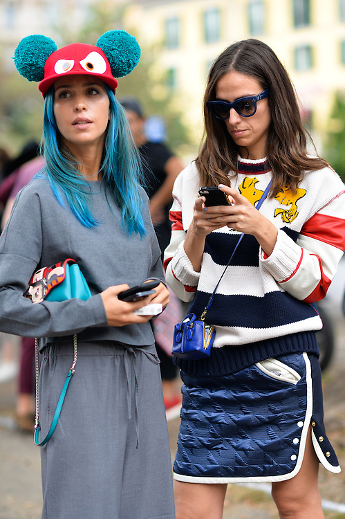 Cartoon Characters, Outside Gucci SS2015
