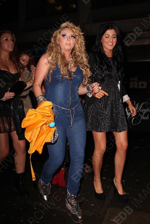 31.DECEMBER.2011 LONDON<br /> <br /> JESY NELSON OF LITTLE MIX LEAVING MAHIKI NIGHT CLUB IN MAYFAIR AFTER SPENDING NEW YEARS EVE THERE WITH BANDMATE LEIGH-ANNE PINNOCK AND OTHER FRIENDS.<br /> <br /> BYLINE: EDBIMAGEARCHIVE.COM<br /> <br /> *THIS IMAGE IS STRICTLY FOR UK NEWSPAPERS AND MAGAZINES ONLY*<br /> *FOR WORLD WIDE SALES AND WEB USE PLEASE CONTACT EDBIMAGEARCHIVE - 0208 954 5968*