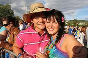 Vegard Tung og Marie Skjærvik fra Fosen. Foto: Bente Haarstad Sommerfestivalen i Selbu er en av Norges største musikkfestivaler. Sommerfestivalen is one of the biggest music festivals in Norway.