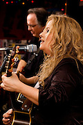 Patty Blee and Ernie performing during a joint appearance with Norman Taylor at the Bus Stop Music Cafe in Pitman, NJ.