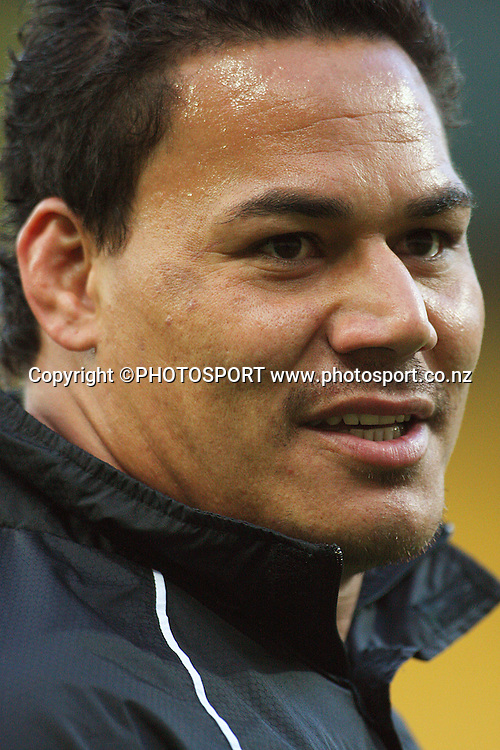 Chris Masoe.<br />