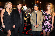 "l to r: Heidi Albertson, American Bald Eagle '' Challenger "" , Russell Simmnons and Jill Henderson at The Life Project for Africa Benefit for the NJIA Health Center in Tanzania, Africa and held at Ben and Jack's Restaurant on November 10, 2009 in New York City"