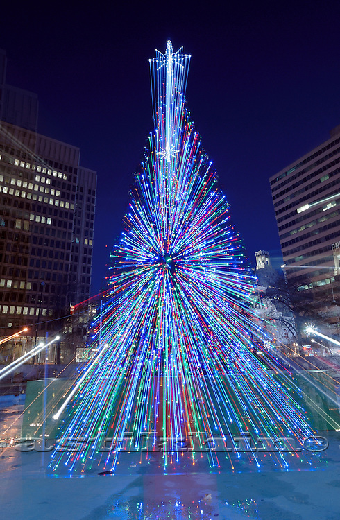 Christmas Tree in Philadelphia