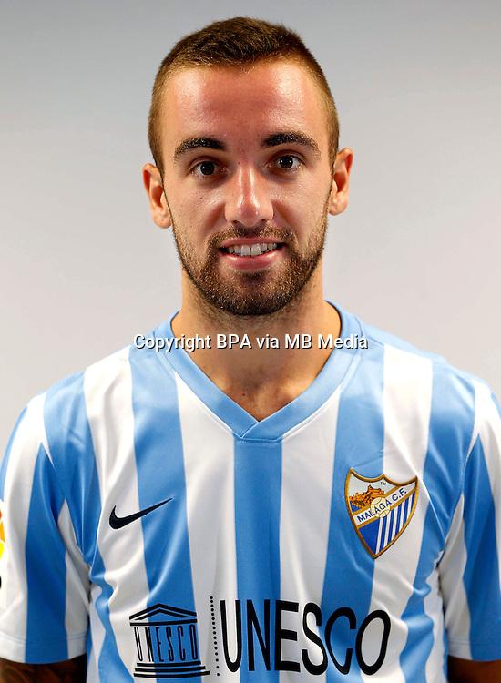 Spain - La Liga BBVA  2014-2015 / <br /> ( Malaga C.F. ) - <br /> Sergi Darder