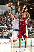 DESCRIZIONE : Chieti Qualificazione Eurobasket Women 2009 Italia Turchia <br /> GIOCATORE : Chiara Pastore<br /> SQUADRA : Nazionale Italia Donne <br /> EVENTO : Raduno Collegiale Nazionale Femminile<br /> GARA : Italia Turchia Italy Turkey <br /> DATA : 27/08/2008 <br /> CATEGORIA : tiro<br /> SPORT : Pallacanestro <br /> AUTORE : Agenzia Ciamillo-Castoria/M.Marchi <br /> Galleria : Fip Nazionali 2008 <br /> Fotonotizia : Chieti Qualificazione Eurobasket Women 2009 Italia Turchia <br /> Predefinita : si