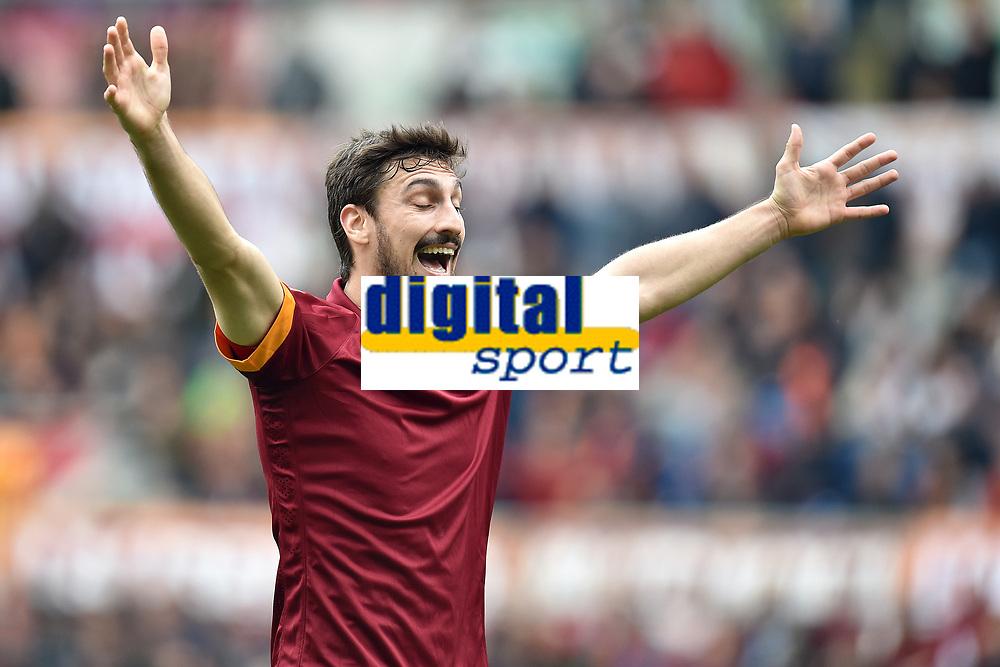 Davide Astori Roma <br /> Roma 04-04-2015 Stadio Olimpico, Football Calcio Serie A AS Roma - Napoli Foto Andrea Staccioli / Insidefoto
