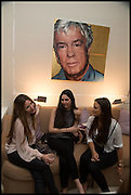 JENIA QUINN; FOSCA MARIANI; MOLLY MILLER-MUNDY, Nicky Haslam hosts a party to launch a book by  Maureen Footer 'George Stacey and the Creation of American Chic' . With a foreword by Mario Buatta. Kensington. London. 11 June 2014