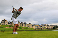 Peter Sheehan (Ballybunion) on the 17th tee during Round 2 of The Ulster Seniors Open Championship in Lough Erne Golf Club, Enniskillen, Co. Fermanagh on Tuesday 30th July 2019.<br /> <br /> Picture:  Thos Caffrey / www.golffile.ie<br /> <br /> All photos usage must carry mandatory copyright credit (© Golffile | Thos Caffrey)
