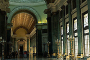 22 Aug 1996, Havana, Cuba --- Corridor in El Capitolio in Havana --- Image by © Jeremy Horner/CORBIS