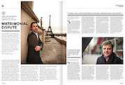 Assignment. Six portraits to illustrate the debate on Gay Marriage. (France)
