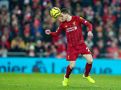LIVERPOOL, ENGLAND - Saturday, November 30, 2019: Liverpool's Andy Robertson during the FA Premier League match between Liverpool FC and Brighton & Hove Albion FC at Anfield. (Pic by David Rawcliffe/Propaganda)