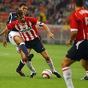 NLD/Amsterdam/20050805 - Johan Cruijffschaal 2005, PSV - Ajax, Nigel de Jong, Andre Ooijer