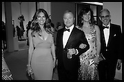ELIZABETH HURLEY; BOB HURLEY; TAMAR MANOUKIAN; PATRICK COX, The Neo Romantic Art Gala in aid of the NSPCC. Masterpiece. Chelsea. London.  30 June 2015