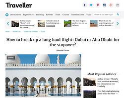 Traveller website; Sheikh Zayed Mosque
