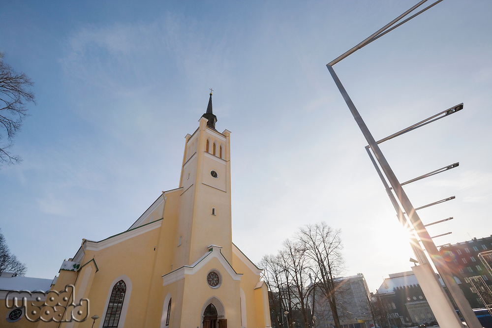 Exterior of St. John's Church; Tallinn; Estonia; Europe