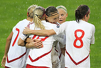 20111026 Barcelos: Portugal vs. Dinamarca, UEFA Women's Euro 2013 Qualifying, Group 7. In picture: Denmark celebrate a goal. Photo: Pedro Benavente/Cityfiles