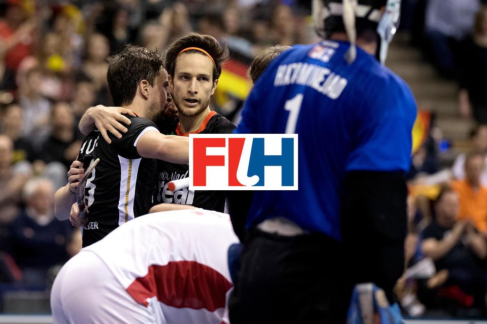 BERLIN - Indoor Hockey World Cup<br /> Semi-final 1: Germany - Iran<br /> foto: Marco Mirtkau.<br /> WORLDSPORTPICS COPYRIGHT FRANK UIJLENBROEK