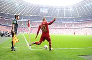 Fussball Bundesliga 2011/12: FC Bayern Muenchen - FC Augsburg
