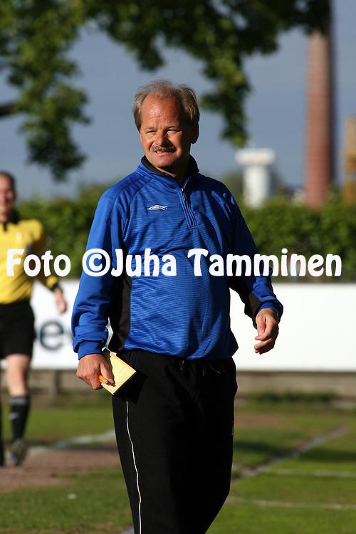 08.06.2006, Veritas Stadion, Turku, Finland..Veikkausliiga 2006 - Finnish League 2006.FC TPS Turku - FC Lahti.Valmentaja Antti Muurinen - FC Lahti.©Juha Tamminen.....ARK:k
